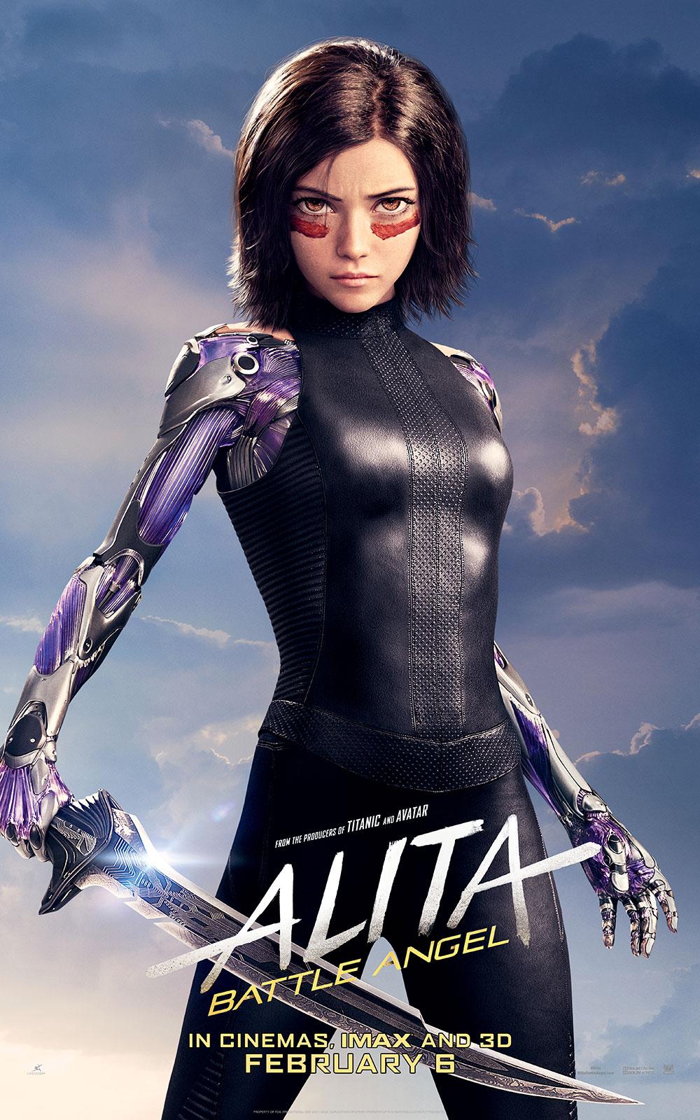 Alita Battle Angel 2019 Mindcraft